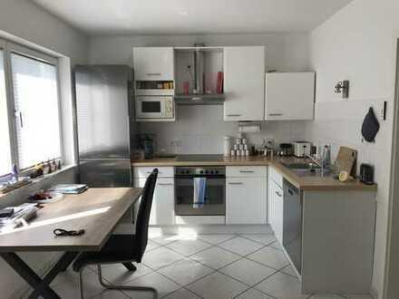 Modernisierte 1-Zimmer-EG-Wohnung mit Terrasse und EBK in Durlach-Aue