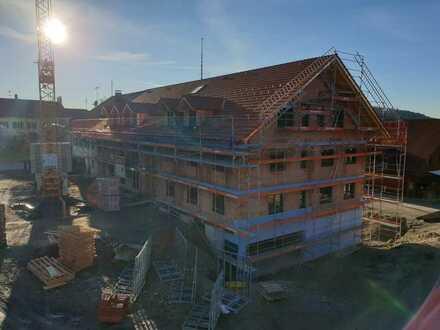 Erstbezug mit Balkon: 3-Zimmer-Wohnung in Marnbach