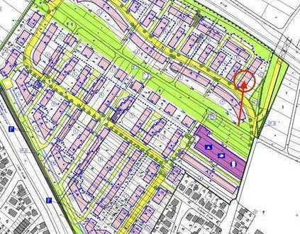 Baugrundstück im Neubaugebiet Offenbach Bieber-Nord für Ein-/Mehrfamilienhaus