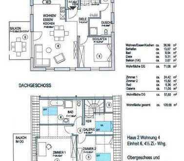 Eigentumswohnung Haus 2 Nr.4 Maisonette Wohnung OG+DG