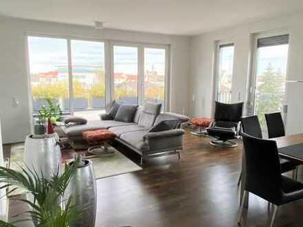 Modernes Penthouse mit großzügiger Dachterrasse