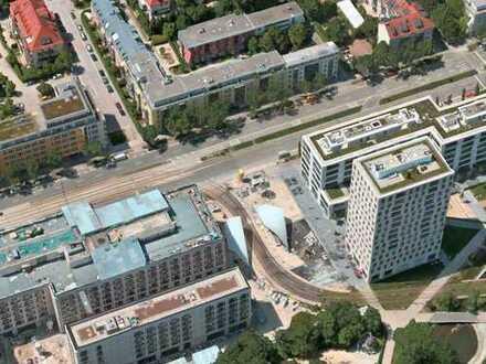 Vollständig renovierte 3-Zimmer-Erdgeschosswohnung mit Balkon und Einbauküche in Schwabing, München