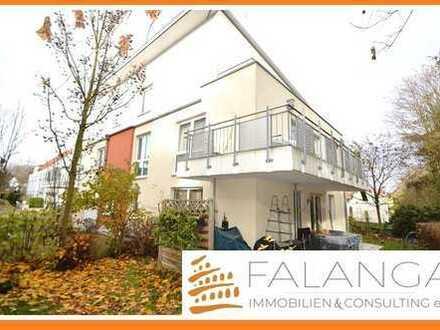 FINTHEN - Neuwertige, moderne und pfiffige Erdgeschoss Wohnung mit Terrasse in herrlicher Grünlage