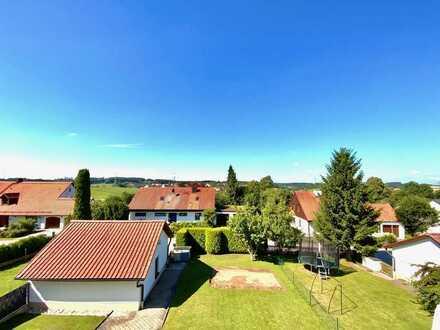 **WEITBLICK+NATURIDYLL** Sonnige & Erhabene DHH + Traumgarten & Terrasse+TOPLAGE Kleinberghofen(S2)