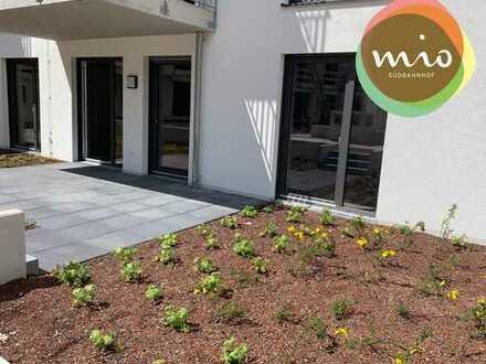 mio aschaffenburg: mein neues Zuhause - mitten in meiner Stadt! moderne Terrassen-Wohnung *A02*