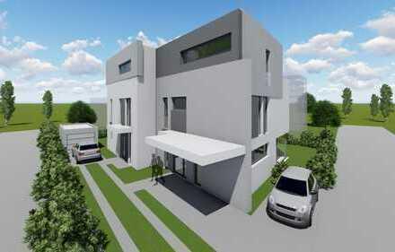 Lifestyle Doppelhaushälfte mit Dachterrasse