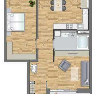 barrierfreie 2-Zimmer Wohnung im 3.OG