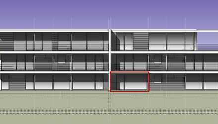 Großzügige 2 Zimmer EG-Wohnung mit Terrasse und ca. 50 qm Gartenanteil im Sondernutzungsrecht