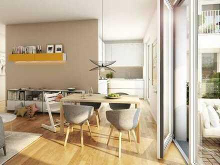 Großzügige 2-Zimmer-Gartenwohnung mit offenem Wohn-/Kochbereich und Terrasse im schönen Köpenick