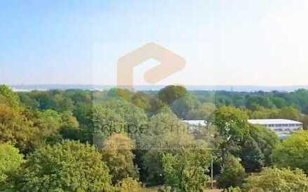 Blick auf den Großen Garten - genießen Sie den Sommer in Ihrer neuen Wohnung!