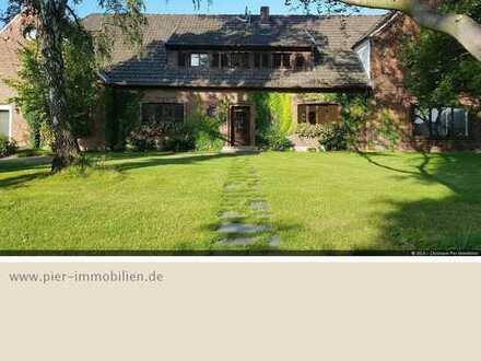 Liebhaberobjekt! Wohnen und Arbeiten in wunderschönem Landhaus am Rande von Schermbeck