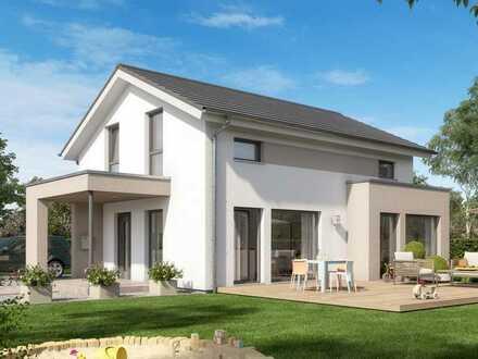 Dein LivingHaus in Stammbach - Baugrundstück im Preis berücksichtigt