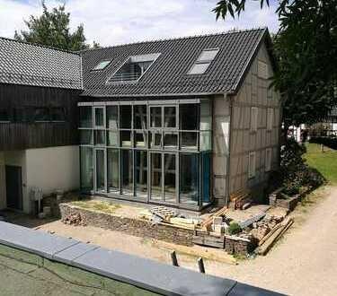 Design im ehemaligen Bauerhaus (in Fertigstellungsphase)