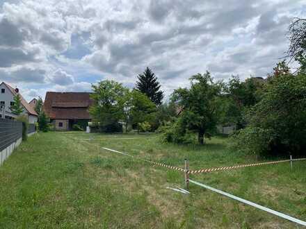 G5) gut geschnittenes Grundstück im Herzen von Rückersdorf - unerschlossen