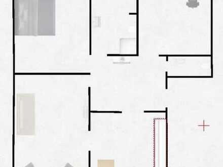 Schöne, geräumige drei Zimmer Wohnung in Düsseldorf, Heerdt