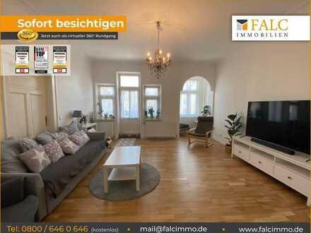 Helle, traumhaft schöne Wohnung im sanierten Altbau inkl. Markenküche und Balkon - ab 01.09.21