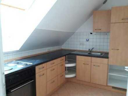 Modernisierte 2-Zimmer-Wohnung mit 2 Balkonen und EBK in Krumbach