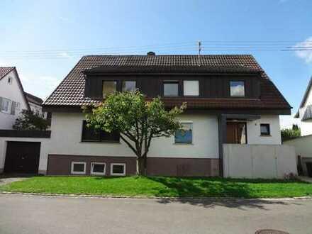 4-Zimmer Obergeschosswohnung mit Südbalkon, Dachzimmer und Garten, Kusterdingen