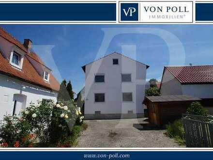 Renovierungsbedürftiges Wohnhaus im Ortskern von Gaimersheim