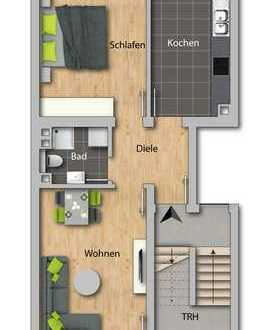 ERSTBEZUG nach Kernsanierung 2-Zimmerwohnung - ideale Lage - MA-Lindenhof