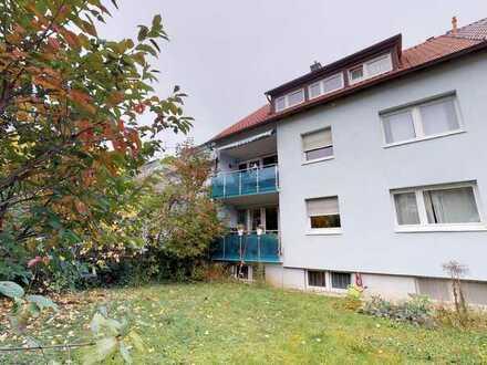 Gepflegte 3,5 Zimmer Wohnung mit Balkon und Garage in S-Vaihingen