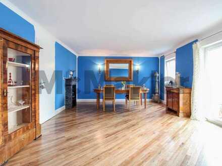 Wie ein Haus im Haus: Seltene Maisonette mit gehobener Ausstattung, eigenem Garten und Garage
