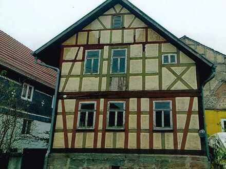 Fachwerk- 3-Zimmer-Haus zum Kauf in Straufhain, Straufhain