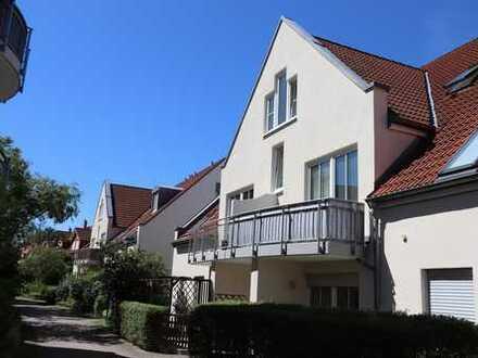 +++ 2-Raum-Wohnung mit Terrasse, Gartenanteil und TG-Stellplatz in ruhiger Lage +++