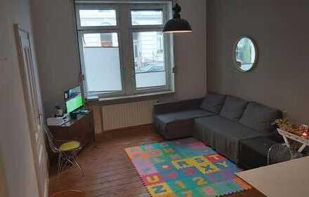 3 Zimmer, möbliert, ruhig, Erdgeschoss, Mietwohnung im Zentrum von Frankfurt