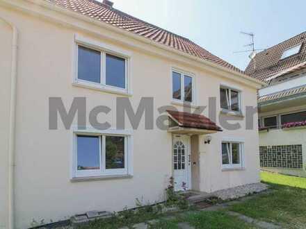 Mehrgenerationenprojekt oder rentable Kapitalanlage: 6-Zi.-ZFM mit Garten und Balkon in ruhiger Lage