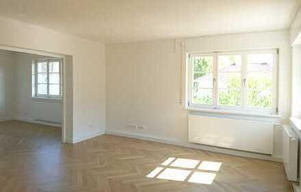 Elegante 4-Zimmer-Wohnung mit Dachterrasse, ruhige Villenlage, zentrumsnah