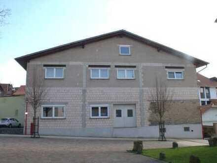 Gr. befahrbare Werkstatthalle ca. 200 m²+ 65m² Bürofläche + 135 m²Büro/Wohnfläche mögl., Hungen-OT