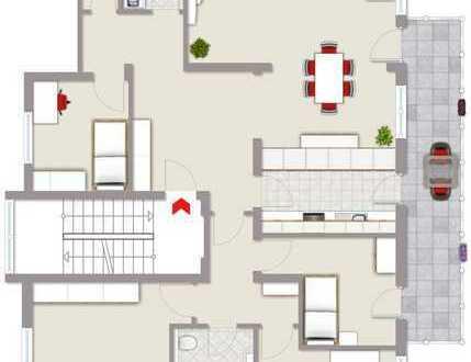 Eigentumswohnung mit Balkon und Gartennutzung!