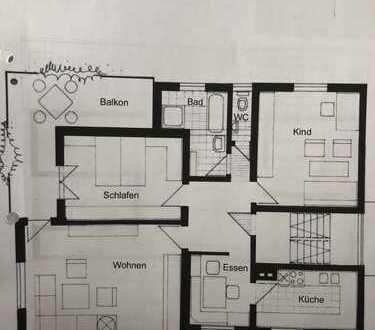 Freundliche 3.5 Zimmer-Wohnung in Aichwald - Aichelberg
