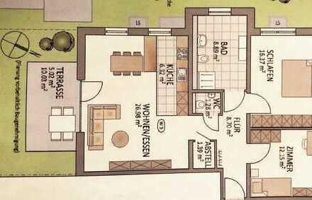 ERSTBEZUG: Attraktive 3 Zimmer-Wohnung, barrierefrei