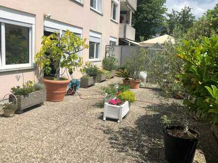 5-Zimmer-Wohnung mit großer Südterrasse in Heidelberg.