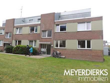 Nadorst-Flötenstraße: renovierte helle 3-Zimmer-Wohnung im Erdgeschoss mit Balkon