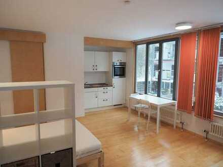 Sonniges, frisch renoviertes 1-Zimmer-Apartment am Unteren Kuhberg