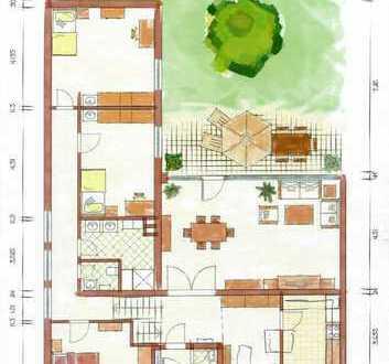 Schöner, modernisierter Bungalow mit Garten in ruhiger Wohnlage, unweit der Waldau