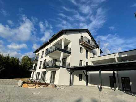 Erstbezug: freundliche 3-Zimmer-Wohnung mit Süd-Balkon in Büchlberg, unweit von Passau