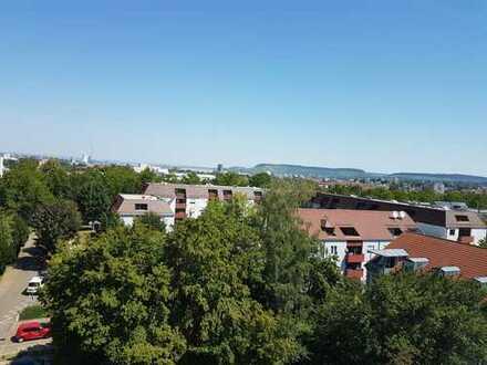 Sanierte 2-Zimmer-Wohnung mit Balkon in Heilbronn-Sontheim