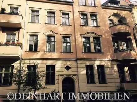 DI - *KAPITALANLEGER* vermietete 3-Zimmer-Altbauwohnung mit Balkon