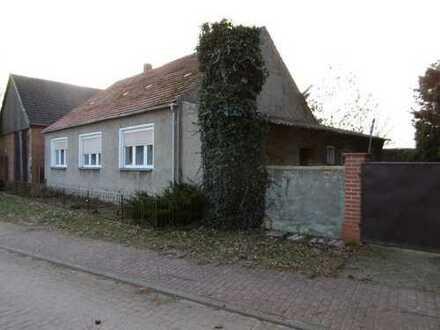- reserviert- Einfamilienhaus in der Gemeinde Marienfließ mit Scheune zu verkaufen
