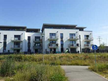 Exklusive, neuwertige 2-Zimmer-Wohnung mit Balkon und Einbauküche in Neubaugebiet-Kelsterbach