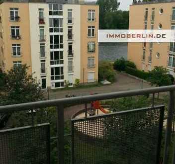 IMMOBERLIN - Helle vermietete Wohnung mit Südwestbalkon & Spreeblick nahe Köpenicker Altstadt
