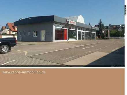 Verkaufs- und Werkstattfläche in Top- Lage von Meiningen zu vermieten