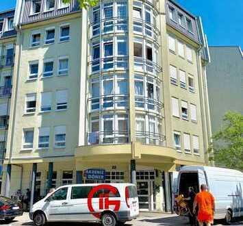 Gepflegte und moderne 2 Zimmer Wohnung in sehr zentraler Lage von Ludwigshafen