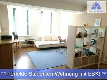 Gemütliche 3-Zimmer Dachgeschoss-Wohnung über 2 Etagen im Zentrum - perfekt als Studenten-WG!