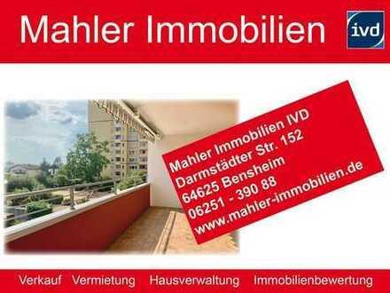 Sonnige 3 ZKB Eigentumswohnung mit Loggia und Garage in Heppenheim