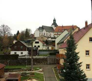 Großzügige 3-Raumwohnung mit Blick auf die Altstadt Lauensteins
